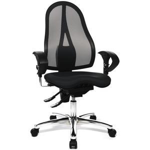 Sitness 15 Bürodrehstuhl , Bezug Stoff schwarz