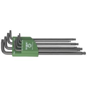 Torx®-Stiftschlüssel-Satz mit Kugelkopf TX9-40 8-teilig