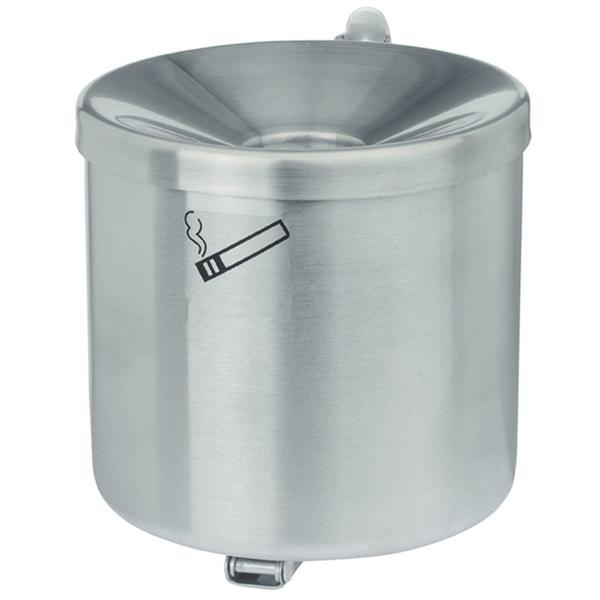 Sicherheits-Wandascher mit Kippvorrichtung ø 90 mm Höhe 100 mm Edelstahl