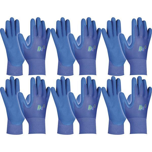 Schutzhandschuh Kinder Gebol Kids Farbe: blau 5-8 Jahre   6 Paar