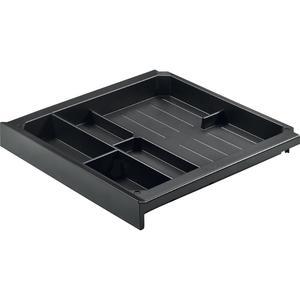 SmarTray Materialschale; Höhe: 40 mm; Kunststoff schwarz