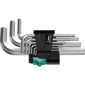 Sechskant Stiftschlüssel-Satz 950/9 Hex-Plus 5 1.5-10 mm 9-teilig