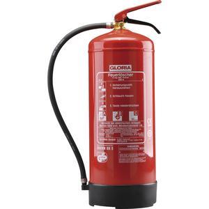 Pulverlöscher PD12 GA, Stahlblech rot lackiert Löschmenge 12kg Brandklasse A, B, C