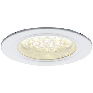 LED Einbauleuchte Sirio IP44, 1, 65 Watt, kaltweiß, ø 68 mm, weiß