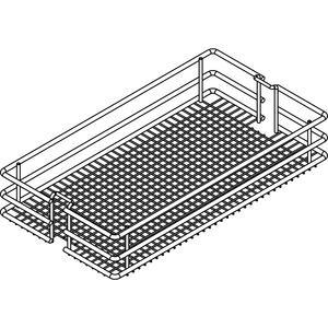VS TAL Larder HSA Saphir Einhängekorb 6er-Set, KB 300mm, RAL 9006