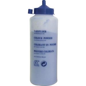 Farbkreide blau in Pulverform 1000 Gramm in Flasche