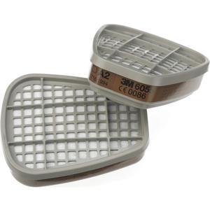 Aktivkohlefilter 6055/A2 zu Atemschutzmasken Serie 6000