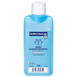 classic pure Händedesinfektion - 500 ml