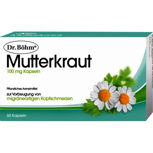 Mutterkraut 100 mg Kapseln
