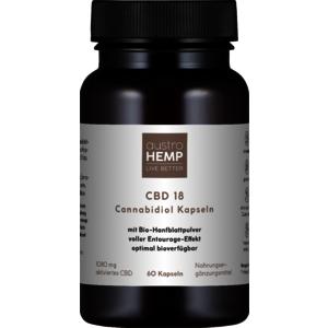 CBD 18 Cannabidiol Kapseln