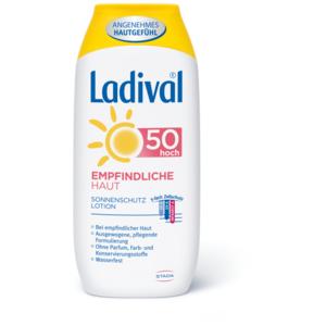 Empfindliche Haut Sonnenschutz Lotion LSF 50