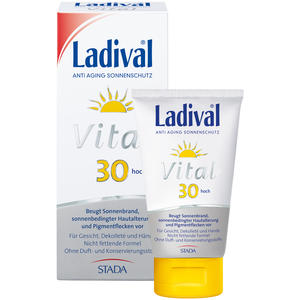 Vital Anti Aging Sonnenschutz Creme LSF 30