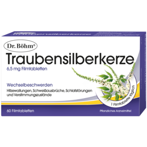 Traubensilberkerze 6,5 mg Filmtabletten