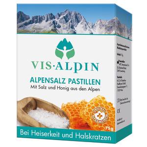 Vis-Alpin Alpensalz Pastillen Honig