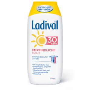 Empfindliche Haut Sonnenschutz Lotion LSF 30