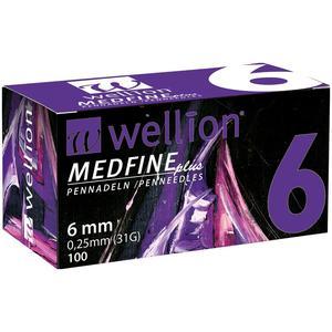 Medfine plus Pennadeln - 6 mm