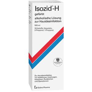 Isozid-H gefärbt - alkoholische Lösung zur Hautdesinfektion - 500 ml