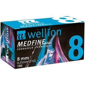 Medfine plus Pennadeln - 8 mm