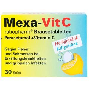 Mexa-Vit C Brausetabletten - 30 Stück