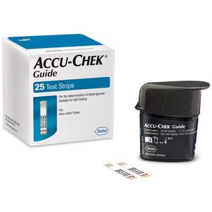 Guide Teststreifen zur Glukosebestimmung - 25 Stück