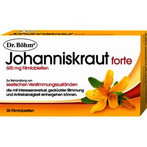 Johanniskraut 600 mg forte Filmtabletten