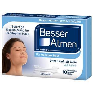 Besser Atmen Nasenstrips Clear Normal - 30 Stück
