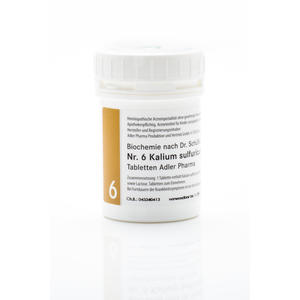 Schüßler Salz Nr. 6 | Kalium sulfuricum D6 - 250 g
