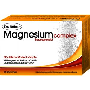 Magnesium complex Brausegranulat