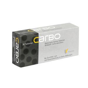 Carbo Medicinalis Tabletten - 50 Stück