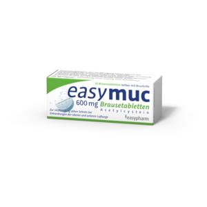 Easymuc 600 mg Brausetabletten - 10 Stück