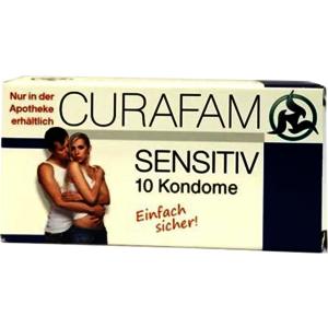Curafam sensitiv Kondome - 10 Stück