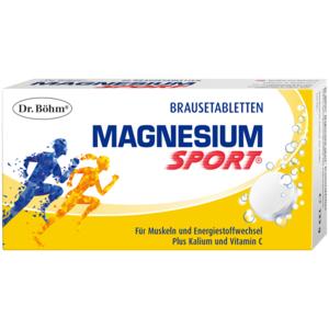 Magnesium Sport Brausetabletten