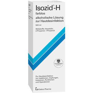 Isozid-H farblos - alkoholische Lösung zur Hautdesinfektion - 100 ml