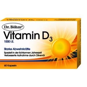 Vitamin D 1000 I.E. Kapseln