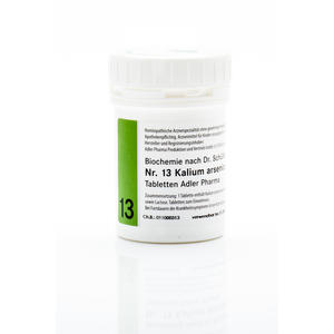 Schüßler Salz Nr. 13 | Kalium arsenicosum D12 - 250 g