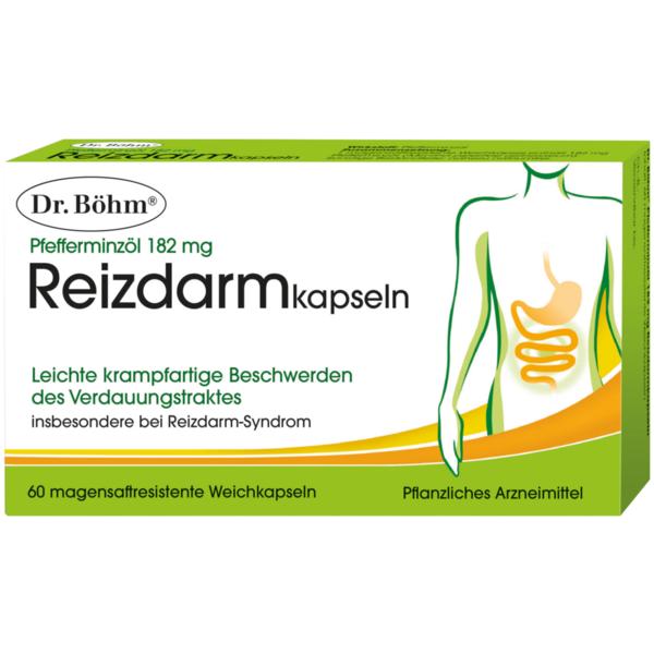Pfefferminzöl 182 mg Reizdarmkapseln - 60 Stück