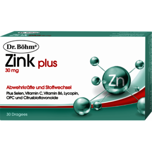Zink plus 30 mg Dragees