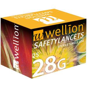 SafetyLancets 28G - 25 Stück