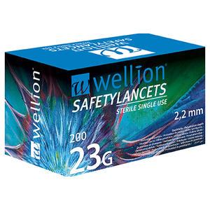 SafetyLancets 23G - 200 Stück