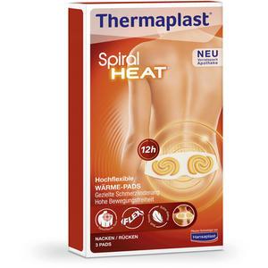 Thermaplast Spiral HEAT für Rücken & Nacken - 3 Stück