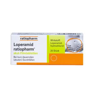Loperamid akut - Filmtabletten