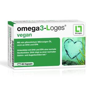 omega3-Loges vegan - 60 Stück