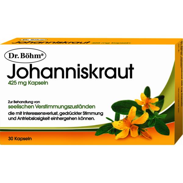 Johanniskraut 425 mg Kapseln - 30 Stück