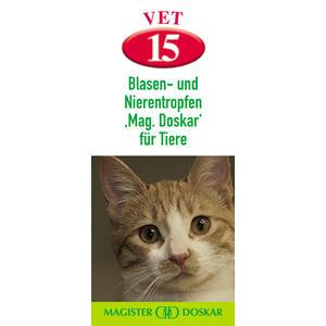 VET 15 Blasen- und Nierentropfen