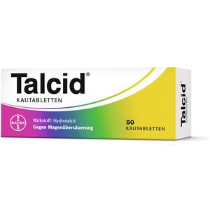 Talcid Kautabletten - 50 Stück