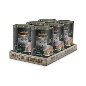 Katzen-Nassfutter - 6er PACK LEONARDO® Quality Selection Reich an Ente 400g