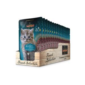 Katzen-Nassfutter - 16er PACK LEONARDO® Finest Selection Kitten Geflügel 85g