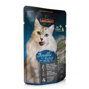 Katzen-Nassfutter - 16er PACK LEONARDO® Finest Selection Forelle & Minze 85g