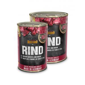 Hunde-Nassfutter - 6er PACKBELCANDO® Super Premium Rind mit Kartoffeln & Erbsen 800g