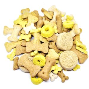 Hundesnacks & Kauartikel - ZIZ Hundekekse Mix 1kg